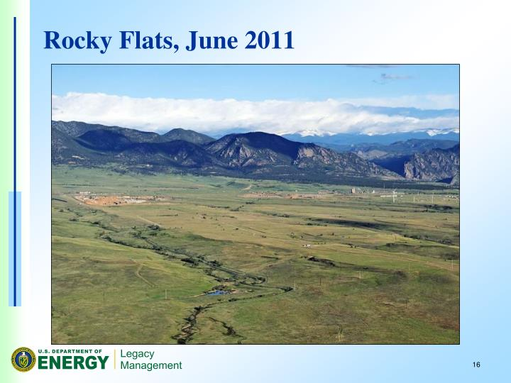 Rocky Flats, June 2011