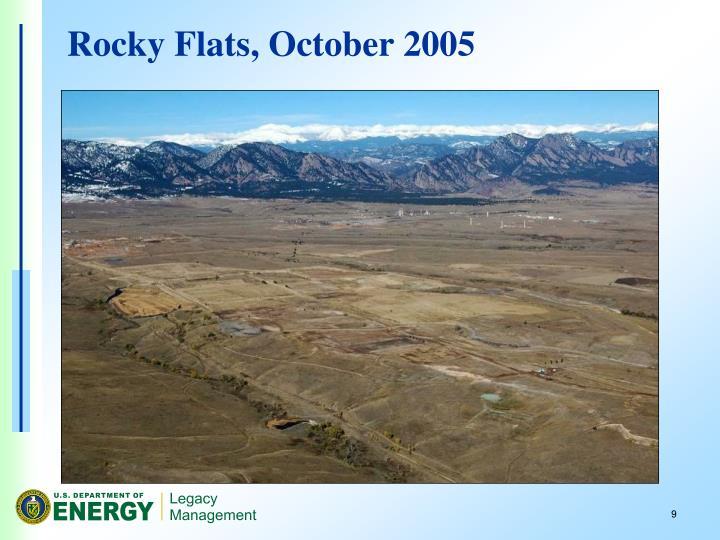Rocky Flats, October 2005