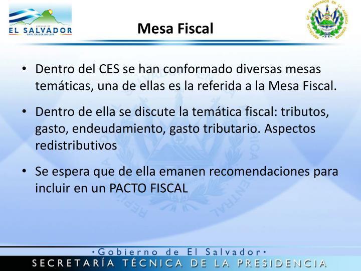 Mesa Fiscal