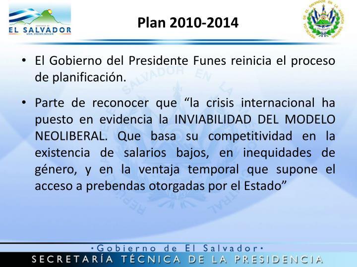 Plan 2010-2014