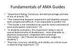 fundamentals of ama guides
