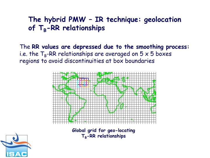 The hybrid PMW – IR technique: geolocation