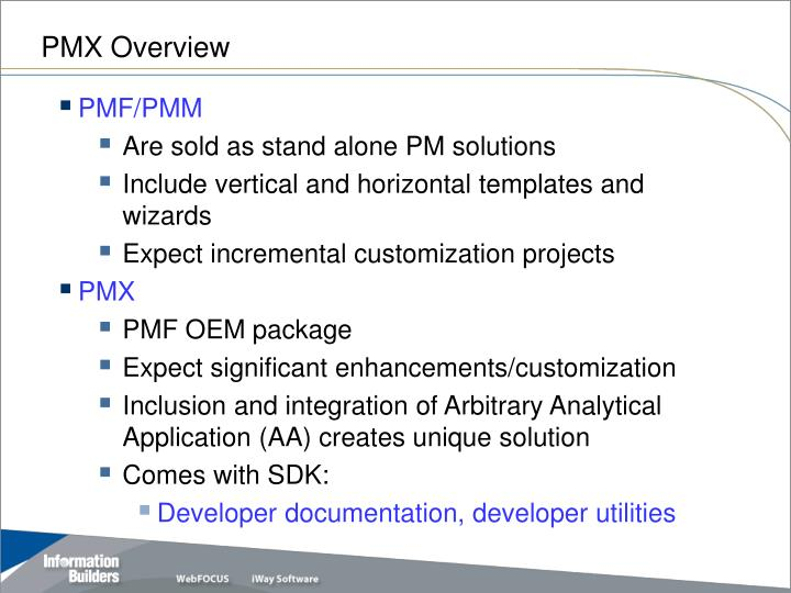PMX Overview
