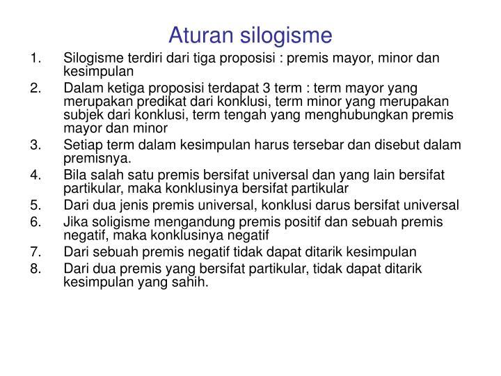 Aturan silogisme