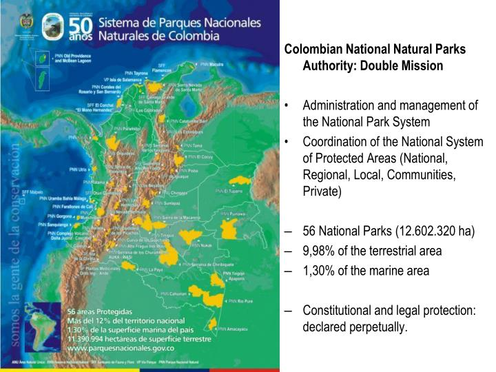 Colombian National Natural Parks Authority: