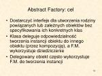 abstract factory cel