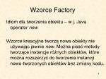 wzorce factory1