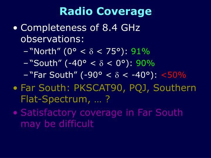 Radio Coverage