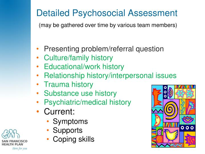 Detailed Psychosocial Assessment