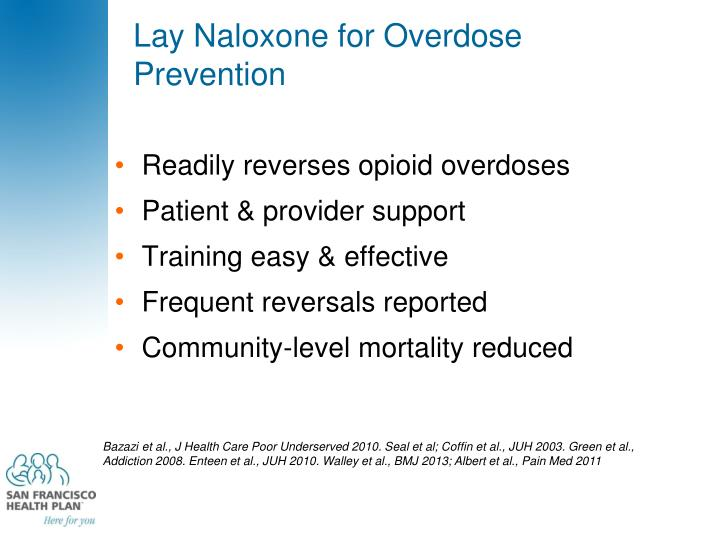 Lay Naloxone for Overdose Prevention