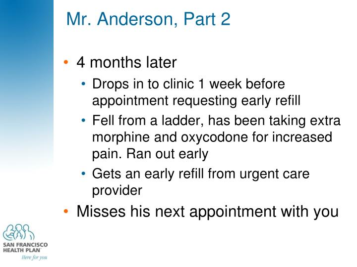 Mr. Anderson, Part 2