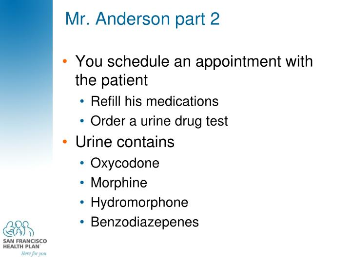 Mr. Anderson part 2