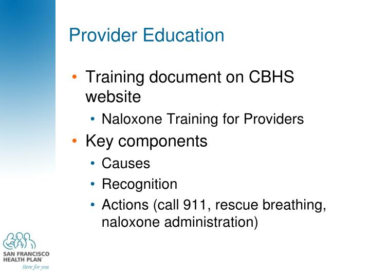 Provider Education