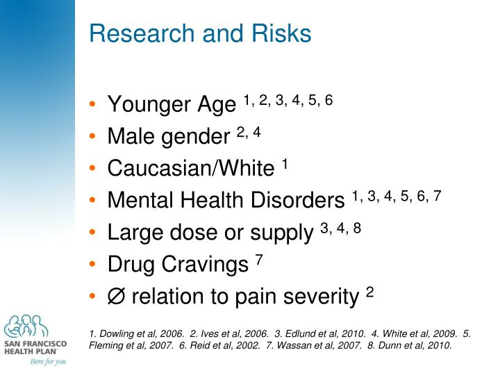 Research and Risks