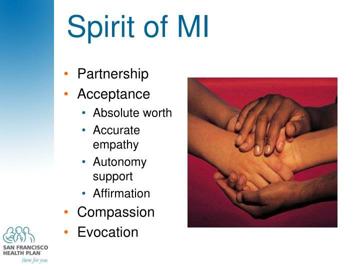 Spirit of MI