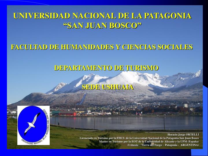 UNIVERSIDAD NACIONAL DE LA PATAGONIA
