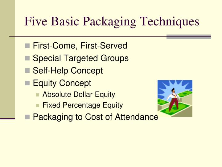 Five Basic Packaging Techniques