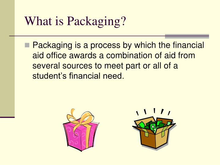 What is packaging