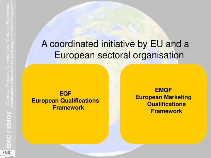 A coordinated initiative by EU and a European sectoral organisation