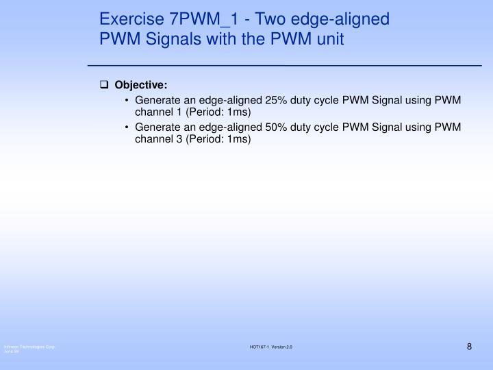 Exercise 7PWM_1 - Two edge-aligned