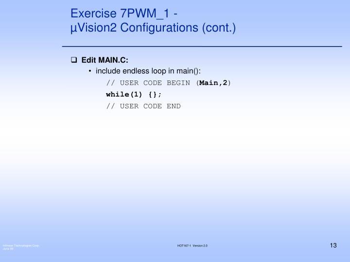 Exercise 7PWM_1 -