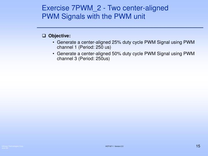 Exercise 7PWM_2 - Two center-aligned