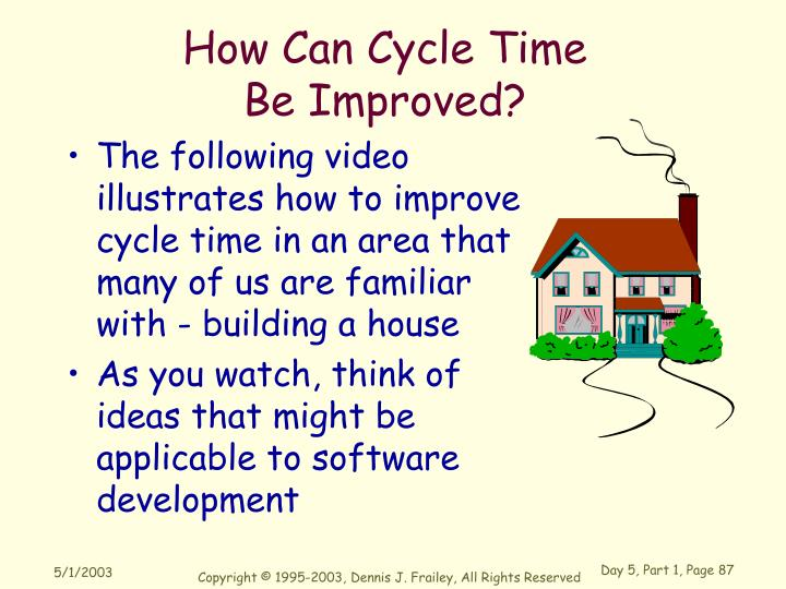How Can Cycle Time