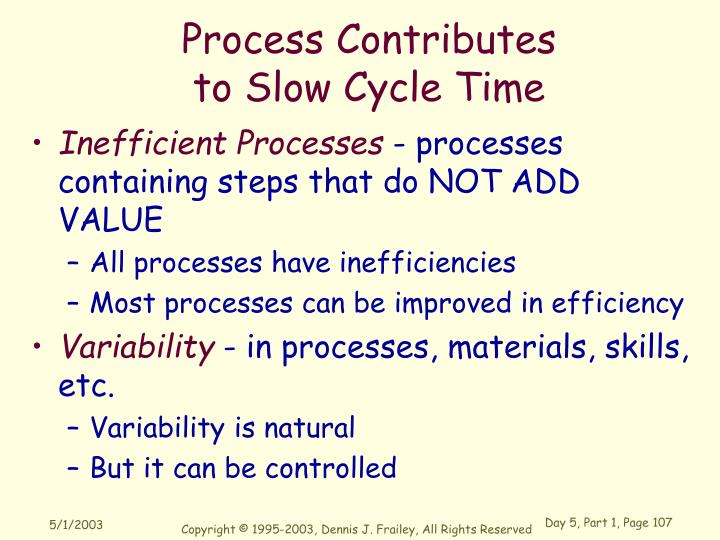 Process Contributes