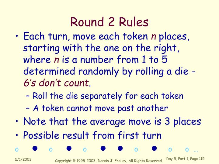 Round 2 Rules