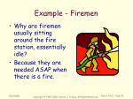 example firemen