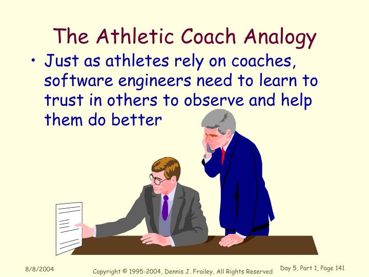 The Athletic Coach Analogy