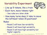 variability experiment1