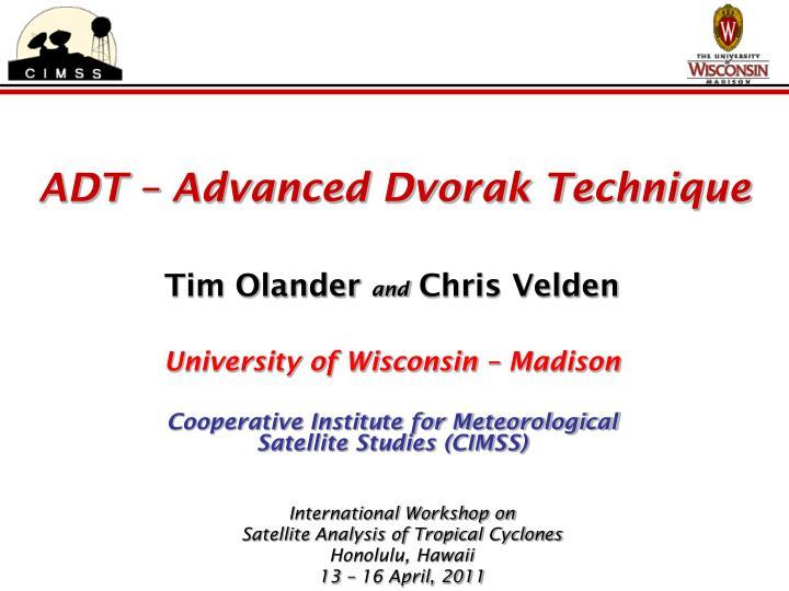 ADT – Advanced Dvorak Technique