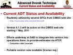 advanced dvorak technique current status and availability