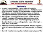 advanced dvorak technique pmw intensity estimate score