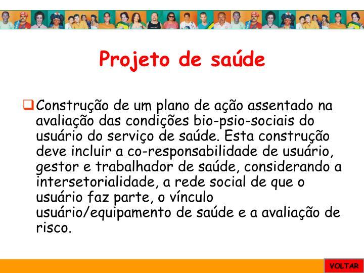 Projeto de saúde