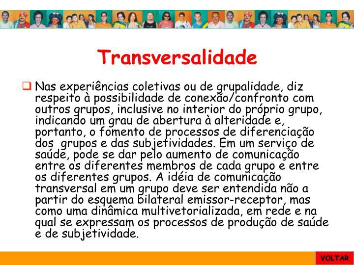 Transversalidade