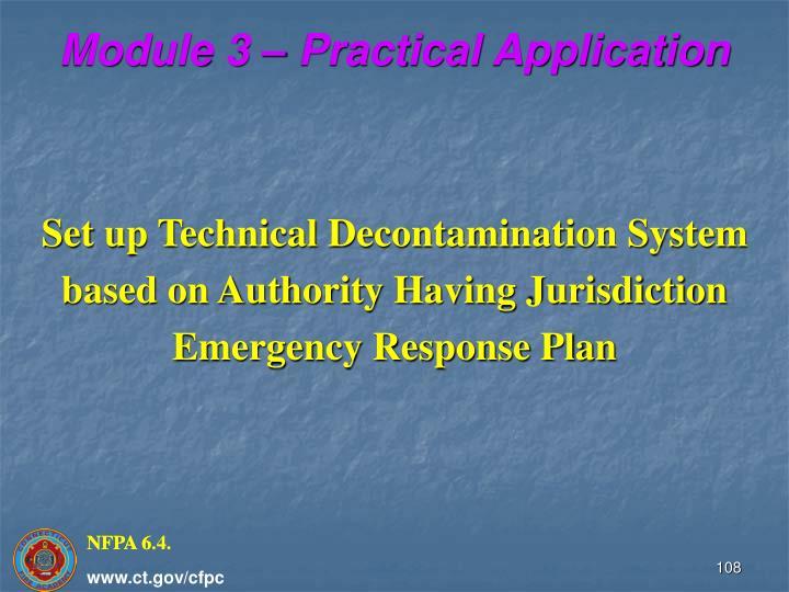 Module 3 – Practical Application