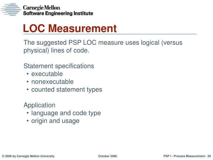 LOC Measurement