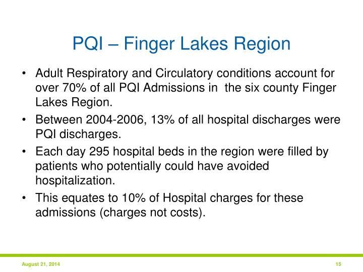 PQI – Finger Lakes Region