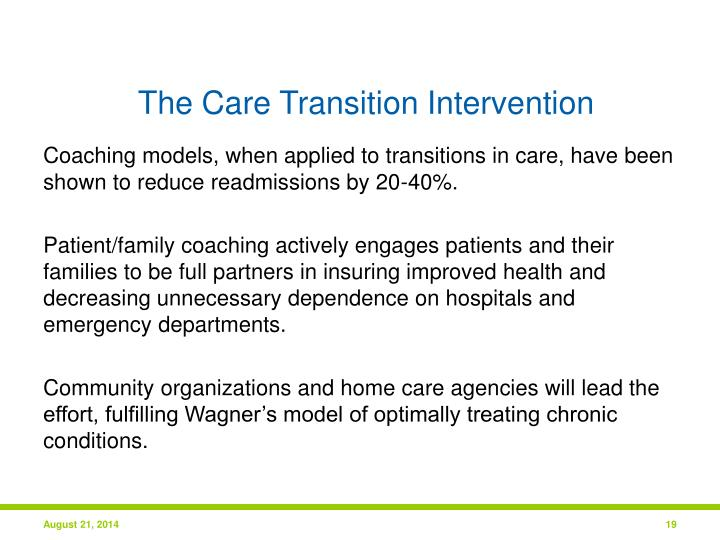The Care Transition Intervention
