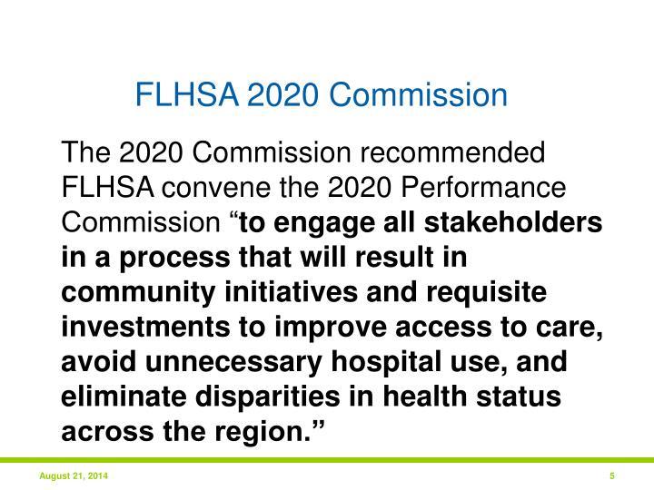 FLHSA 2020 Commission
