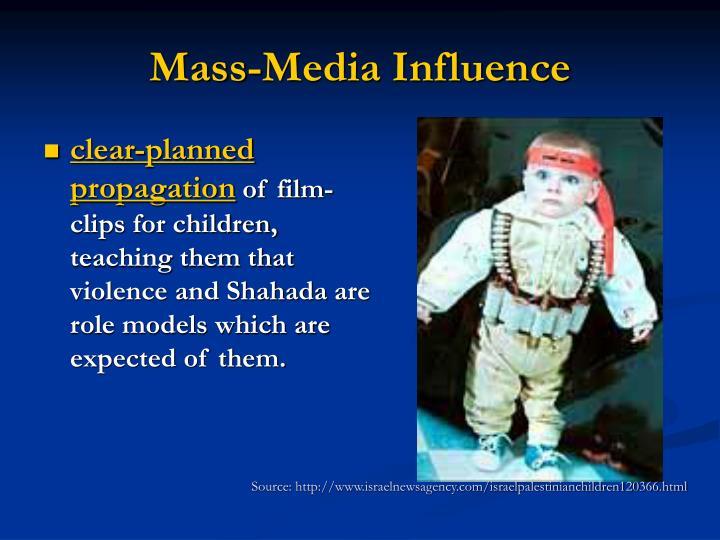 Mass-Media Influence
