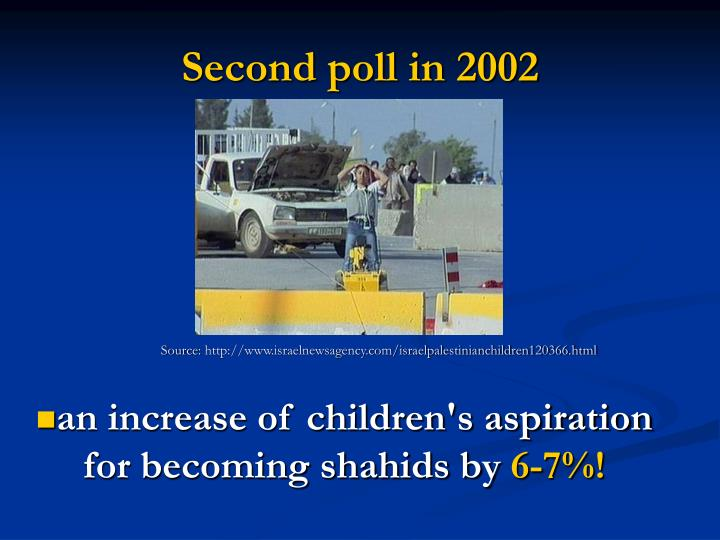 Second poll in 2002