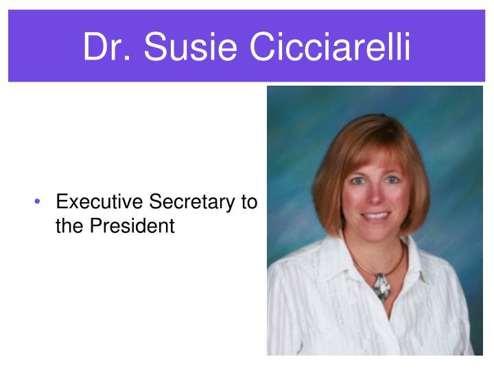 Dr. Susie Cicciarelli