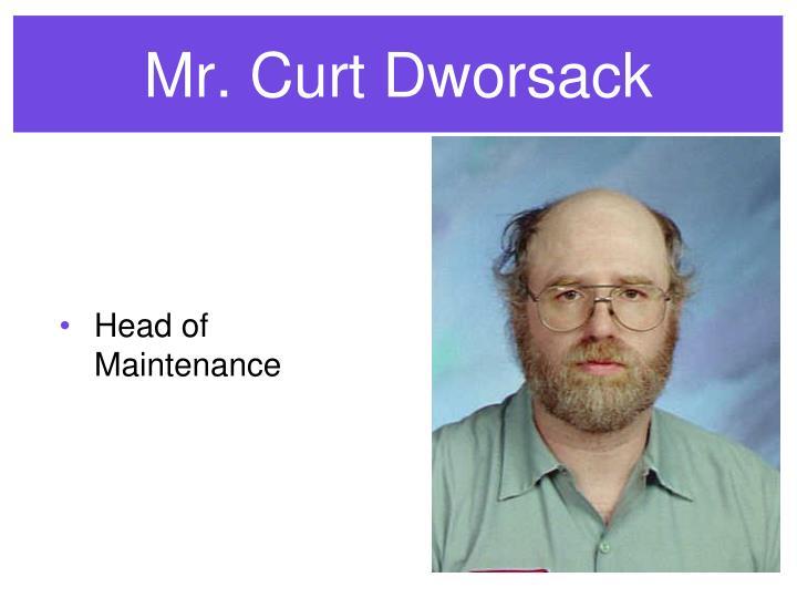 Mr. Curt Dworsack