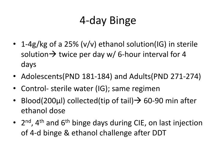 4-day Binge
