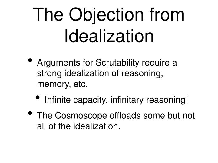 The Objection from Idealization
