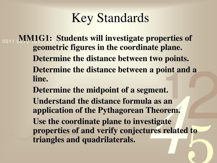 Key Standards