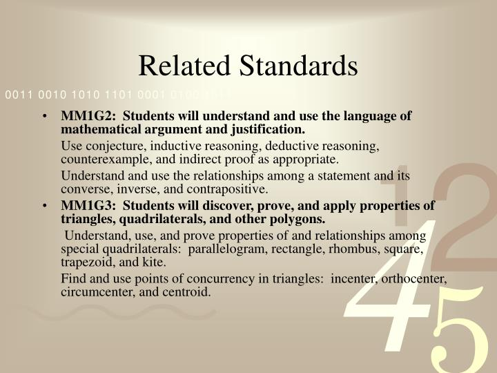 Related Standards